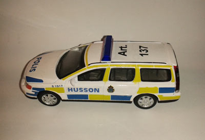 Who wants to see this model exhibited in Sweden's Police Museum? Photo: BIMCAM.