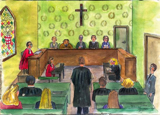 Tribunal Suprême, Monaco, February 2009